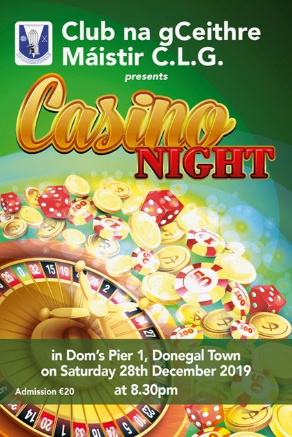 Casino Night is back